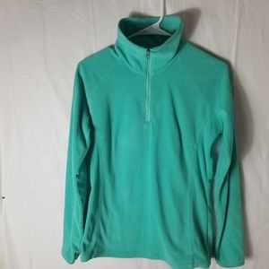 Women's columbia zip up fleece size SMALL
